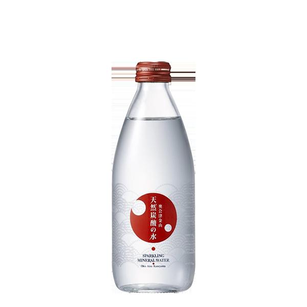 奥会津金山 天然炭酸の水 赤ラベル(ガス入り)